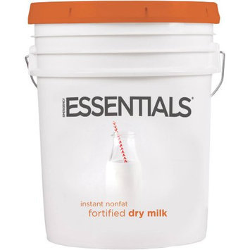 Emergency Essentials SuperPail Instant Nonfat Fortified Dry Milk, 20 lbs