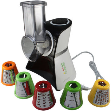 Cooks Club USA VC02BK Salad Maker, Mini Food Processor, and Produce Shooter