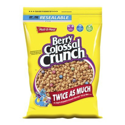 Malt-O-Meal Berry Colossal Crunch Cereal 30-oz.