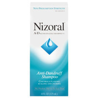Nizoral A-D Ketoconazole Anti-Dandruff Shampoo, 4 fl oz