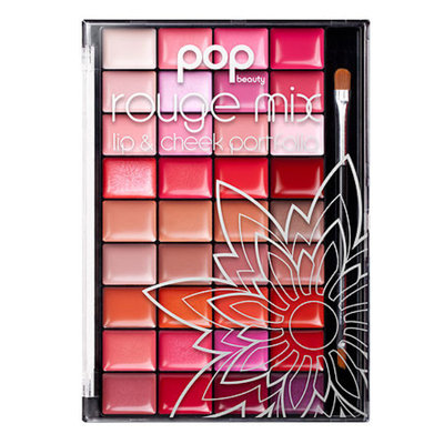 POP Beauty Rouge Mix, Lip/Cheek Portfolio, 1 ea