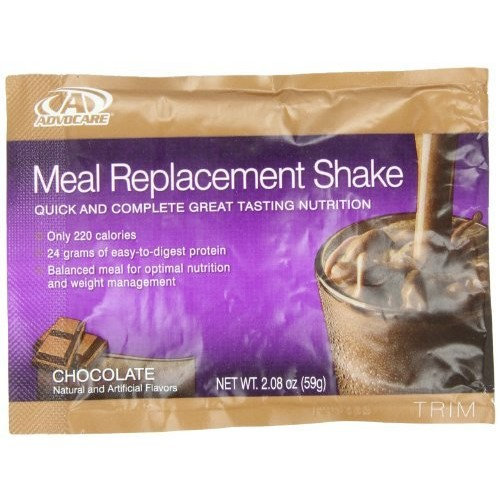 AdvoCare Meal Replacement Shakes, Chocolate
