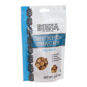 Biena Chickpea Snacks Sea Salt