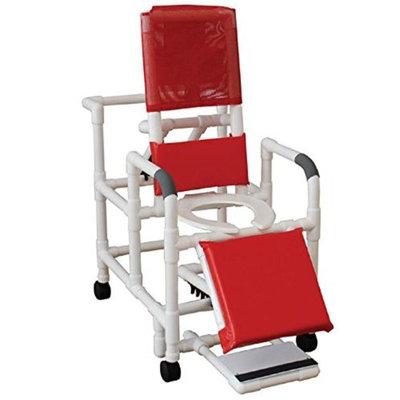 MJM International 196-SSDE Reclining Shower Chair