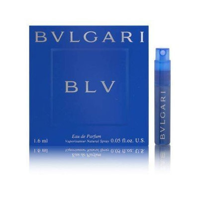 BVLGARI BLV (Bulgari) by Bvlgari Vial (sample) .04 oz For Women