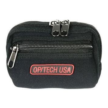 Op/tech Usa OP TECH USA Soft Pouch Zippeez Small Black HEC0NK2VE-1608