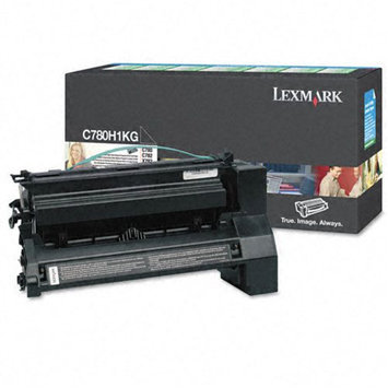 Lexmark C780H1KG Black High-Yield Return Program Toner Cartridge