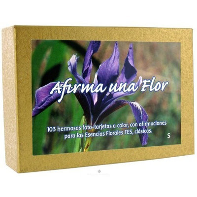 Flower Essence Services - Afirma Una Flor Affirmation Card Set Spanish - 103 Cards - CLEARANCE PRICED