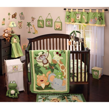 NoJo Jungle Babies 8 pc. Comforter Set