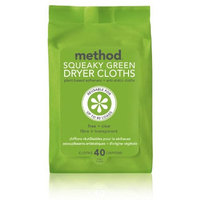 method products dryer sheets sweet water squeaky green