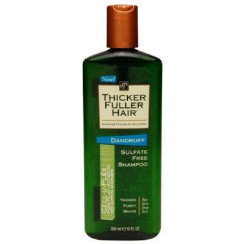 Thicker Fuller Hair Dandruff Sulfate-Free Shampoo, 12 fl oz