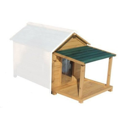Premium Pet PD100 Porch and Deck ONLY for Insulated Dog Houses Size: Medium (18