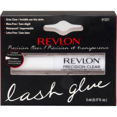 Revlon Precision Clear Lash Glue, 0.17 fl oz