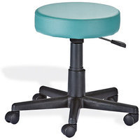 EarthLite Massage Tables Rolling Stool with Back