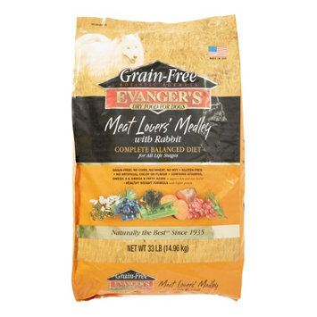 Phillips Feed & Pet Supply Evangers Grain Free Meat Lover's Medley with Rabbit Dry Dog Food