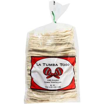 LA Tumba Todo: Corn Tortillas, 100 Oz