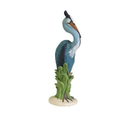 Sculptural Gardens Blue Heron Statuary (Discontinued by Manufacturer)
