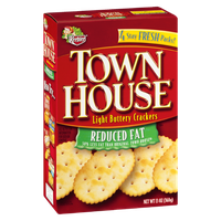 Keelber Town House Reduced Fat Light Buttery Crackers