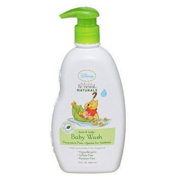 Disney Fragrance Free Baby Wash, 15 Ounce (Pack of 2)