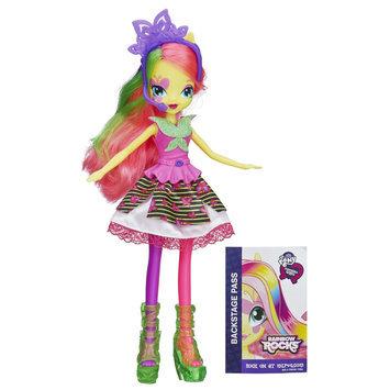 My Little Pony Equestria Girls Neon Rainbow Rocks Fluttershy Doll - HASBRO, INC.