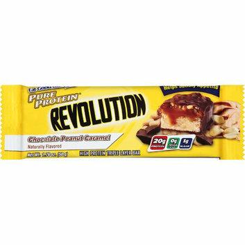 Us Nutrition : Pure Protein Revolution Chocolate Peanut Caramel Bar