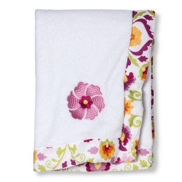 Mudhut Baby Blanket MUL PNK ORANGE WHT