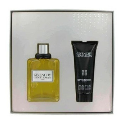 GENTLEMAN by Givenchy Gift Set -- 3.3 oz Eau De Toilette Spray + 2.5 oz All Over Shampoo in Gift Box for Men