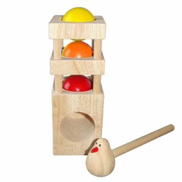 Discoveroo Wooden Bird Smackeroo Ages 18 Months+, 1 ea