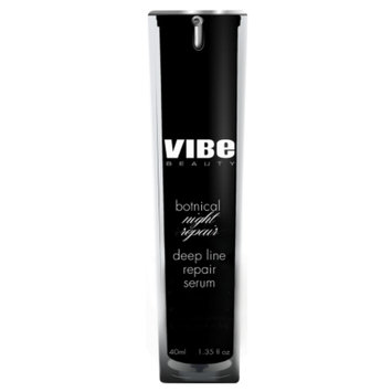 Vibe Beauty Botanical Night Repair Deep Line Repair Serum, 1.35 fl oz
