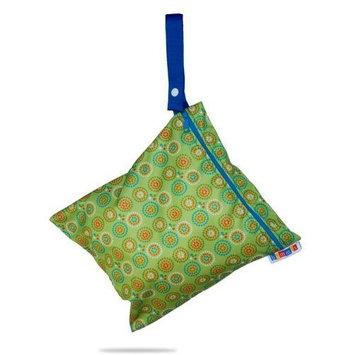 Bummis Fabulous Wet Diaper Bag, Green, Medium (Discontinued by Manufacturer)