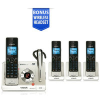 Vtech LS6475-3 + (2) LS6405 Cordless Answering System w/ Headset