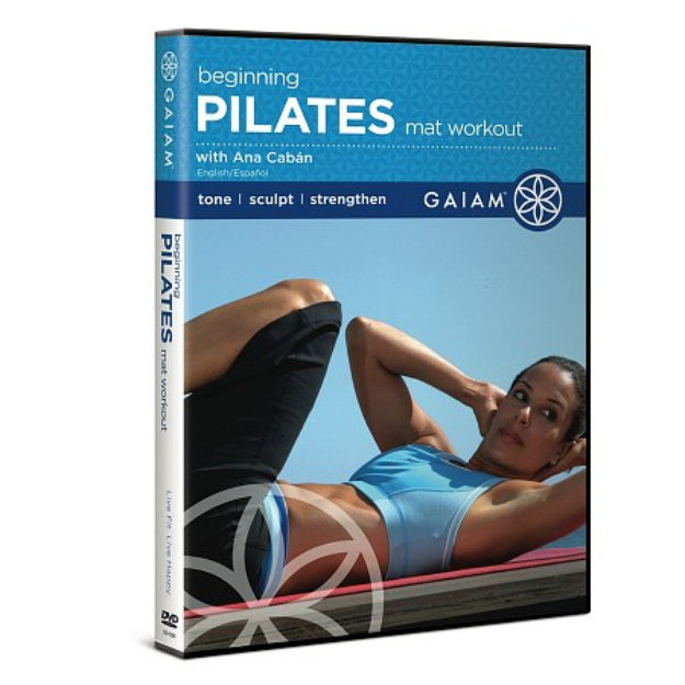 Gaiam Pilates Beginning Mat Workout DVD Reviews 2019