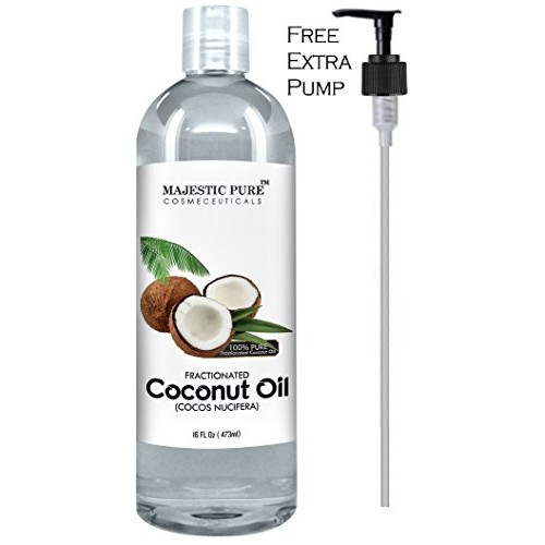 Majestic Pure Fractionated Coconut Oil 16 Oz