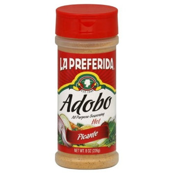 La Preferida Adobo Hot Picante, 8-Ounce (Pack of 12)