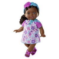 Little Mommy Sweet As Me Floral Fun African American Doll
