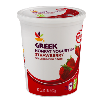 Ahold Greek Nonfat Yogurt Strawberry