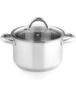 Tools Of The Trade Tools of the Trade Stainless Steel 4 Qt. Stockpot with Steamer Insert