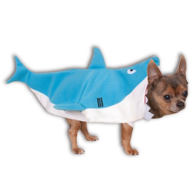 Rubies Shark Jumpsuit Pet Costume