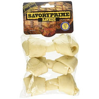 Savory Prime Pet Treats Savory Prime 3-Pack Supreme Bone, 4 to 5-Inch, White