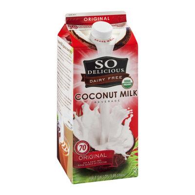 So Delicious Coconut Milk Dairy Free Original