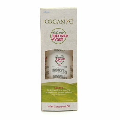 ORGANYC Natural Intimate Wash with Cotton Seed Oil