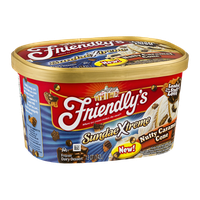 Friendly's SundaeXtreme Nutty Caramel Cone Frozen Dairy Dessert
