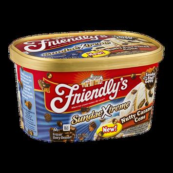 Friendly's SundaeXtreme Nutty Caramel Cone Frozen Dairy Dessert