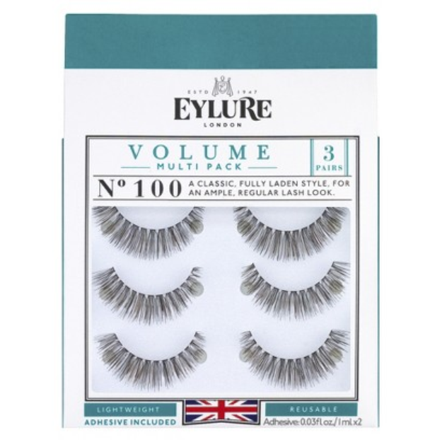 Eylure EYLURE NATURALITES SUPERFULL FALSE EYELASHES 3 PAIR - 100