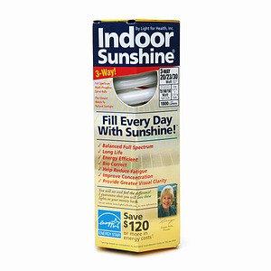 Indoor Sunshine Full Spectrum Compact Fluorescent Bulb