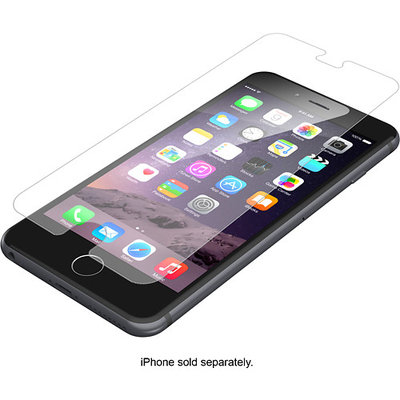 ZAGG - InvisibleShield Glass Screen Protector for Apple® iPhone® 6 Plus and 6s Plus - Clear