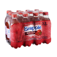 Snapple Pomegranate Raspberry Red Tea