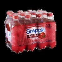 Snapple Pomegranate Raspberry Red Tea- 12 PK