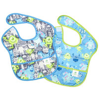 Disney Baby MONSTERS, INC. 2-pack Waterproof SuperBib from Bumkins