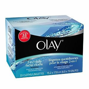 Olay  2-1 Daily Facial Cleansing Cloths